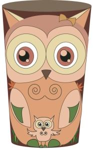 Owl glass