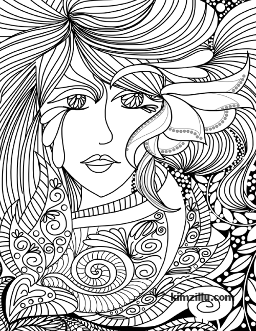 very detailed adult coloring pages - photo#36