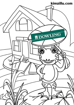 kimzillu.com - coloring pages for real estate company