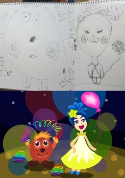 kimzillu.com - draw from kid illustrations (1)