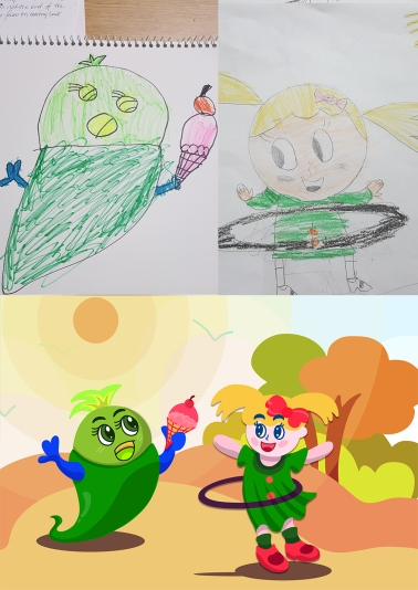 kimzillu.com - draw from kid illustrations (2)