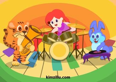 music band little girl 2
