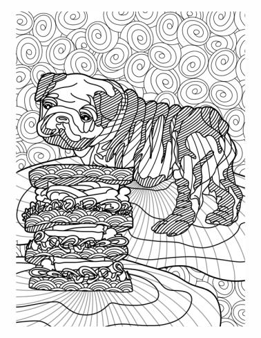 bulldog_and_sandwich