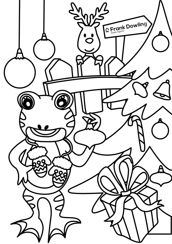 Frog_and_Christmas_theme