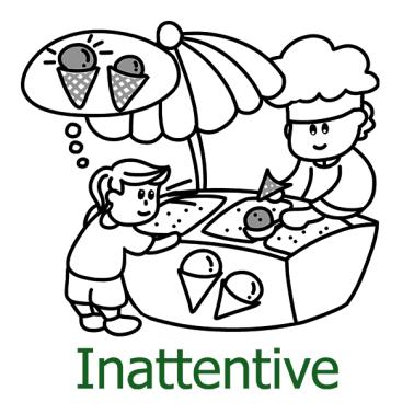 Inattentive